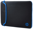 Чехол HP Chroma Sleeve Black/Blue (V5C27AA)