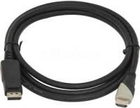 Кабель HDMI (m) DisplayPort (m) 2м черный