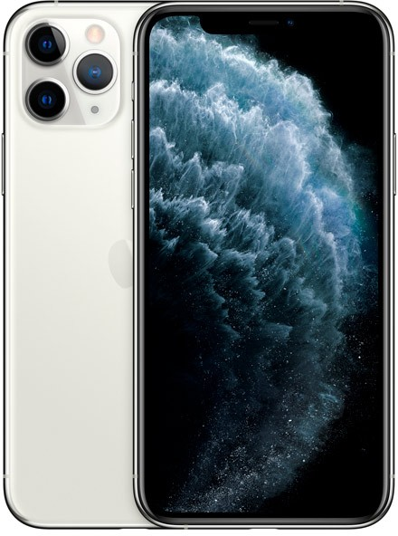 "Смартфон Apple MWC32RU/A iPhone 11 Pro 64Gb серебристый моноблок 3G 4G 1Sim 5.8"" 2436x1125 iPhone iOS 13 12Mpix 802.11ax NFC GPS GSM900/1800 GSM1900 TouchSc Ptotect MP3"