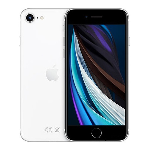 "Смартфон Apple MXVU2RU/A iPhone SE 2020 256Gb белый моноблок 3G 4G 2Sim 4.7"" 750x1334 iPhone iOS 13 12Mpix 802.11 a/b/g/n/ac/ax NFC GPS GSM900/1800 GSM1900 TouchSc Ptotect MP3"