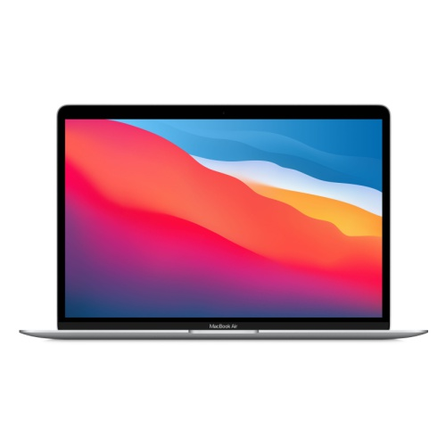 "Ноутбук Apple MacBook Air M1/8Gb/SSD256Gb/13.3""/IPS (2560x1600)/Mac OS/silver/WiFi/BT/Cam"