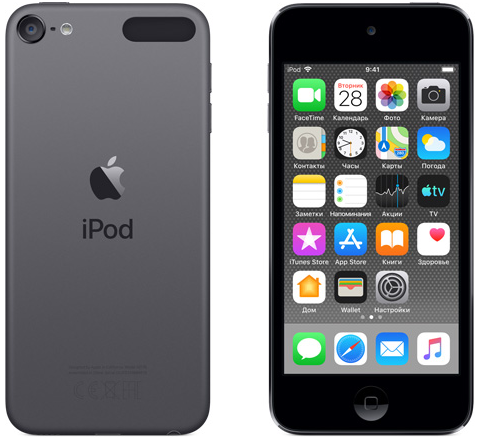 Плеер Apple iPod touch 128GB (MVJ62RU/A) Space Grey