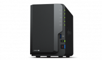 Сетевое хранилище Synology  DS220+ DC 2,0GhzCPU/2GB(upto6)/RAID0,1/up to 2HDDs SATA(3,5' 2,5')/2xUSB3.0/2GigEth/iSCSI/2xIPcam(up to 25)/1xPS /2YW (repl DS218+)