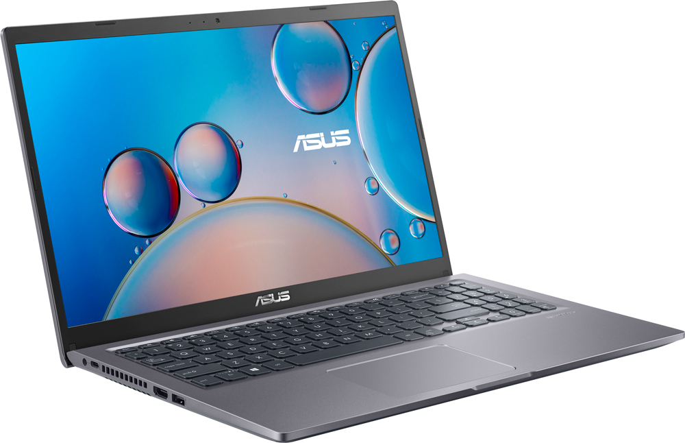 "Ноутбук Asus VivoBook X515JA-BQ025T Gray Core i3-1005G1/4Gb/256Gb SSD/15,6"" FHD IPS AG/UHD Graphics/WiFi/BT/Win10 (90NB0SR1-M00260)"