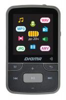 "Плеер Hi-Fi Flash Digma Z4 BT 16Gb черный/1.5""/FM/microSDHC/clip"