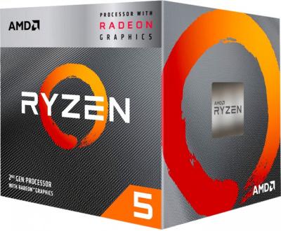 Процессор AMD Ryzen 5 3400G BOX (YD3400C5FHBOX)