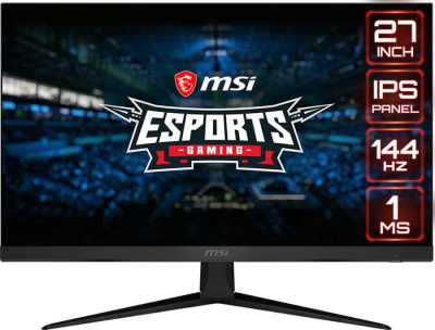 "Монитор MSI 27"" Optix G271 IPS 1920x1080 144Hz FreeSync 250cd/m2 16:9"