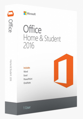 MS Office Home and Student 2016 No Skype Rus Only Medialess (79G-04713)