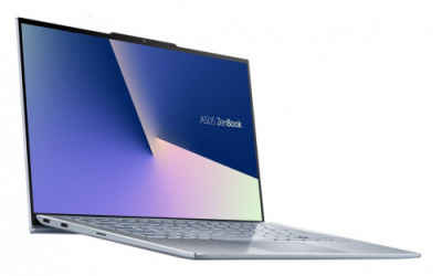 "Ноутбук ASUS Zenbook S13 UX392FA-AB021R i7-8565U/16Gb/512Gb PCIe SSD/Intel 620/13.9""/FHD IPS (1920x1080)/WiFi/BT/Cam/Windows 10 Pro /Illum KB/1,1Kg/Utopia Blue/Sleeve"